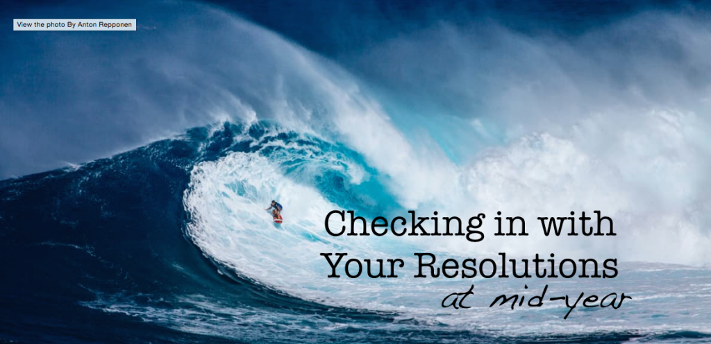 Resolutions check-in