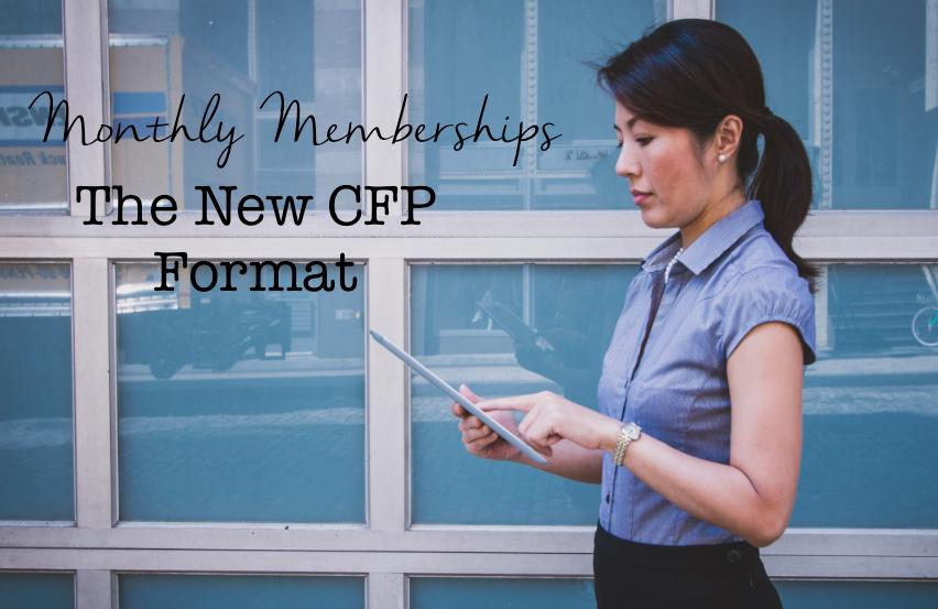 Monthly Memberships CFP