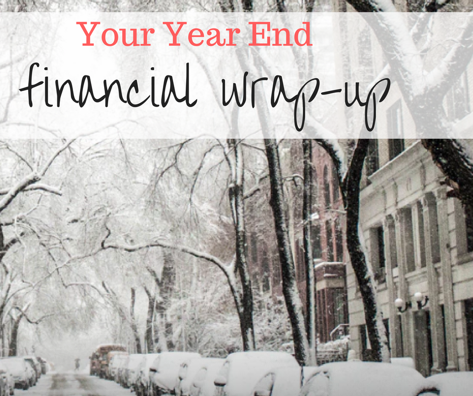 financial wrap-up
