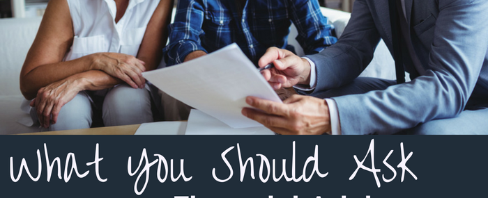 Questions to ask your financial planner